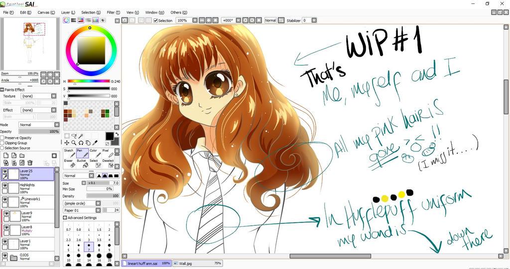 Ann Huff wip by MiyukiUchiha