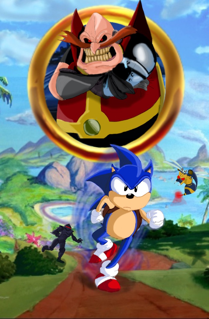 Sonic The Hedgehog 2020 Poster Satam Style By Nightmare1398 On Deviantart