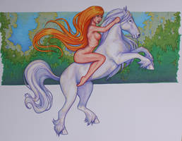 Lady Godiva by tempestsreign