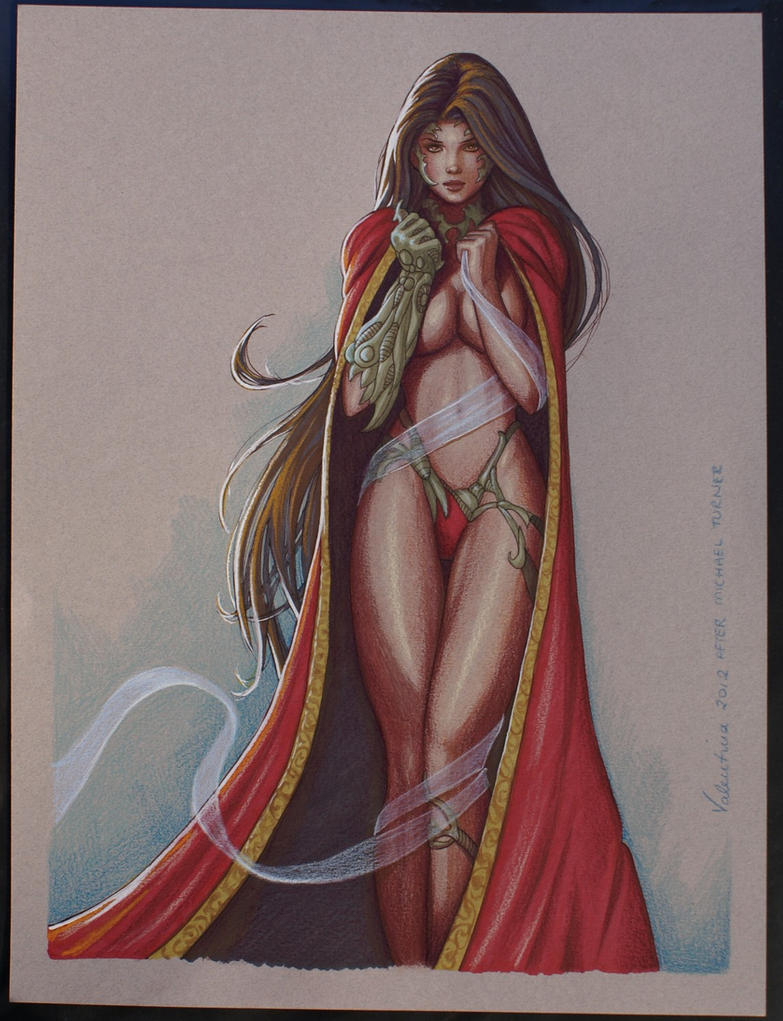 Michael Turner's Witchblade #6 recreation by tempestsreign