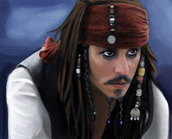 Captain Jack Sparrow by shirahime-syo13