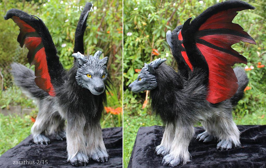 Fluff creature 4 by zarathus