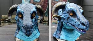 Blue dragon partial costume
