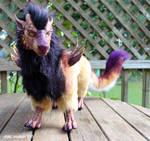 Creature doll by zarathus