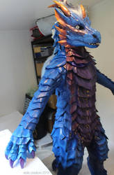 Dragon costume WIP by zarathus