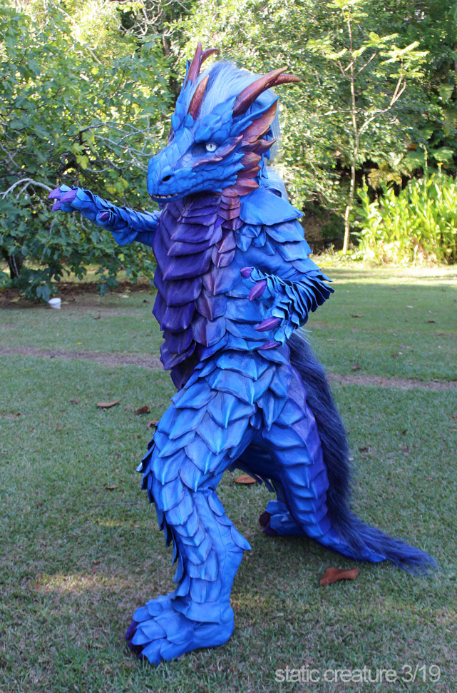 Dragon costume WIP2 by zarathus