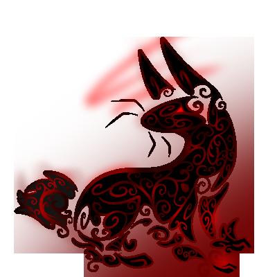 Tribal Rabbit SCC 400x by Senaru