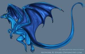 Remade Pernese Dragon COLOR ME by Senaru