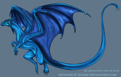 Remade Pernese Dragon COLOR ME