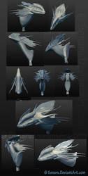 3D Mantella Bust by Senaru