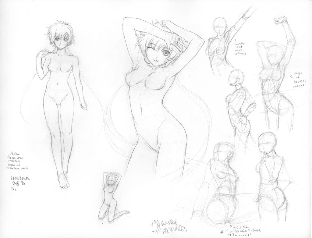 anime figure drawing 29 by rainy season on deviantart