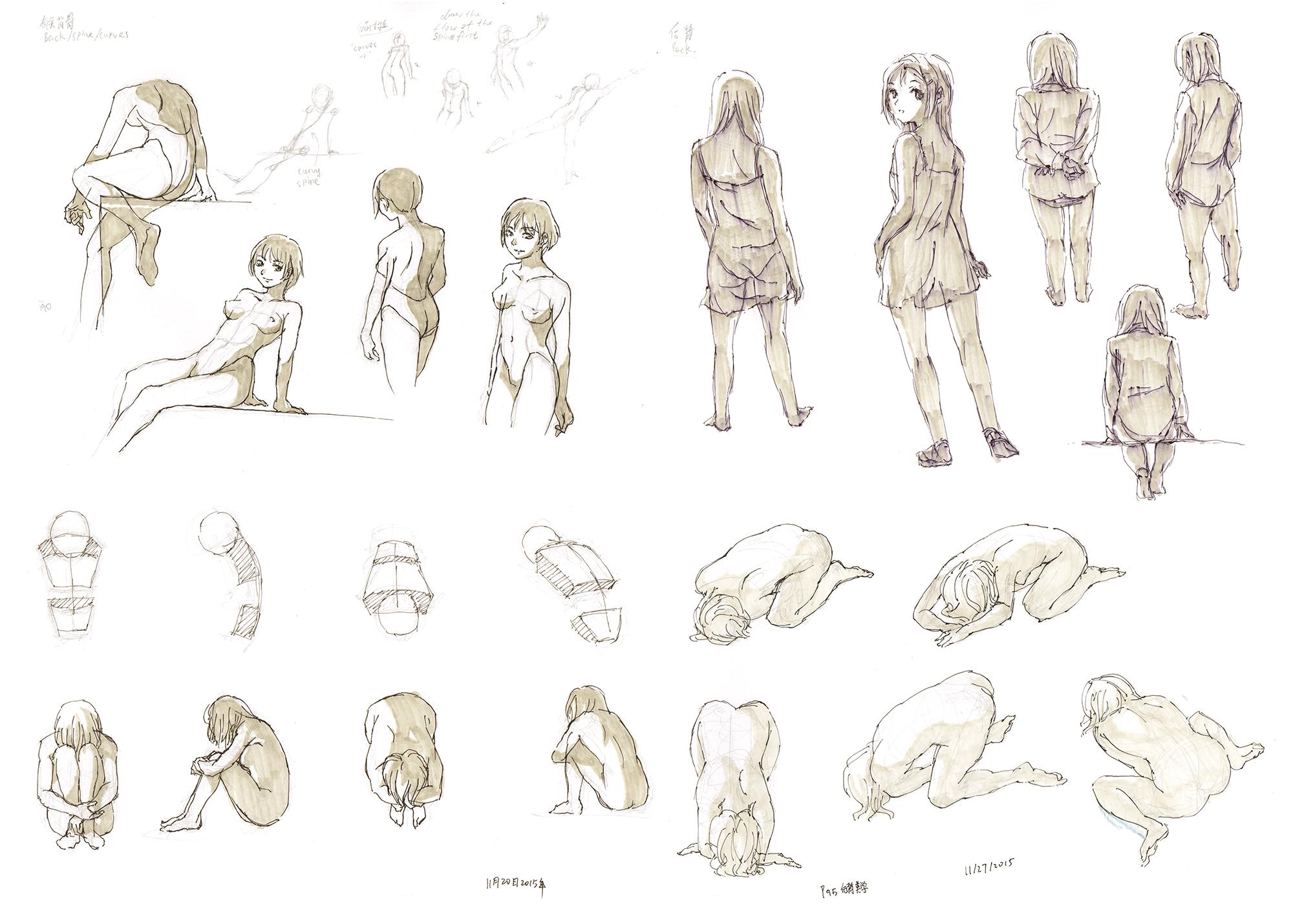 Anime Figure Drawing 30 By Rainy Season On Deviantart