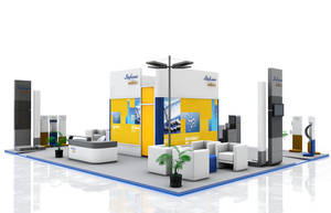 sabic exibition stand by pampilo