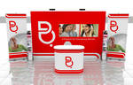 batelco Pop-up stand and roll-