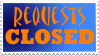 Requests Closed Stamp by LullaNonseSong