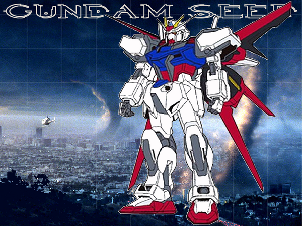 gundam wallpaper. Strike Gundam Wallpaper by
