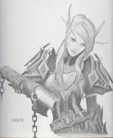 Blood Elf by sjomme