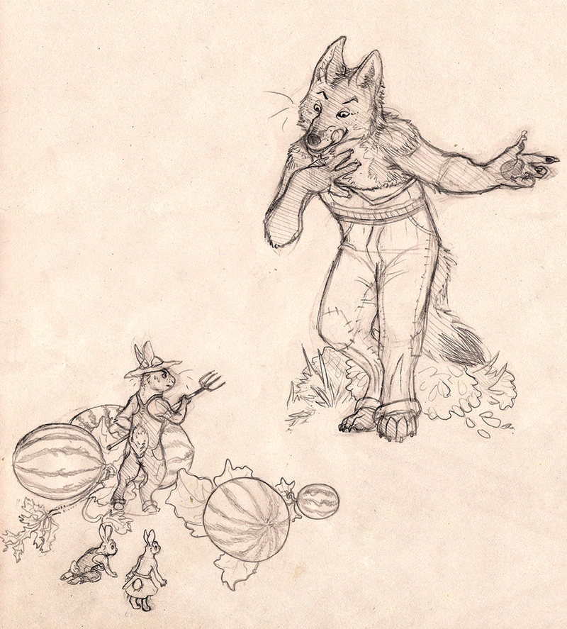 br'er coyote by SaraaLuna
