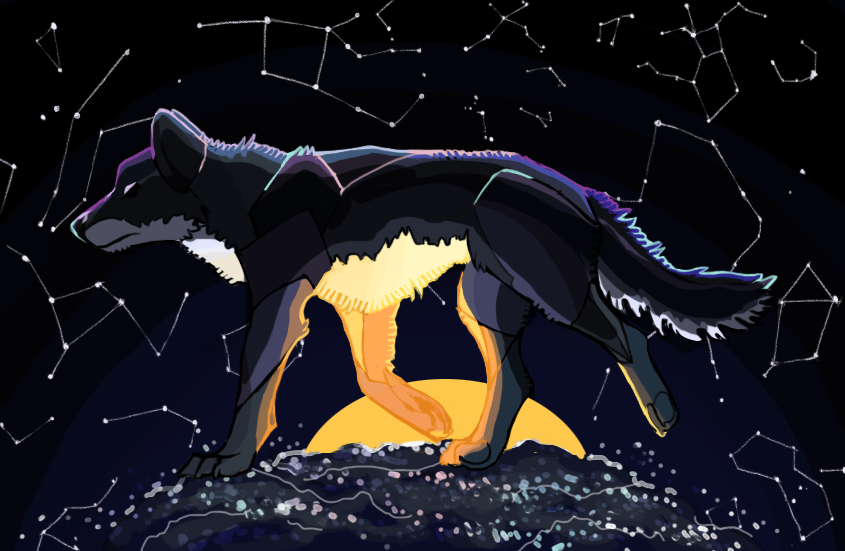 amongst the universe by SaraaLuna