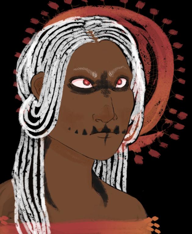 Humanized Kondra by SaraaLuna