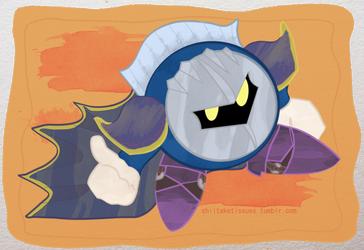 Meta Knight by SaraaLuna
