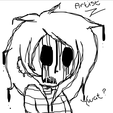 Creepypasta OC Artist : Whaaaaaaat? by Xx-MayhemOnMisery-xX