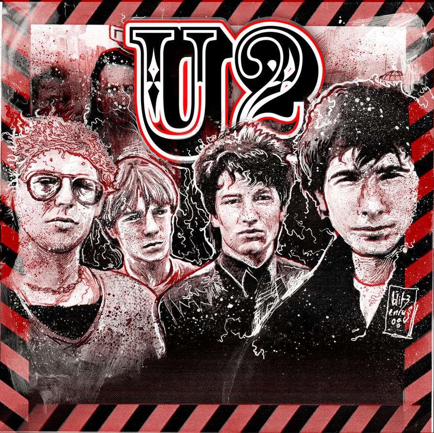 U2 Red and Black by blitzenius