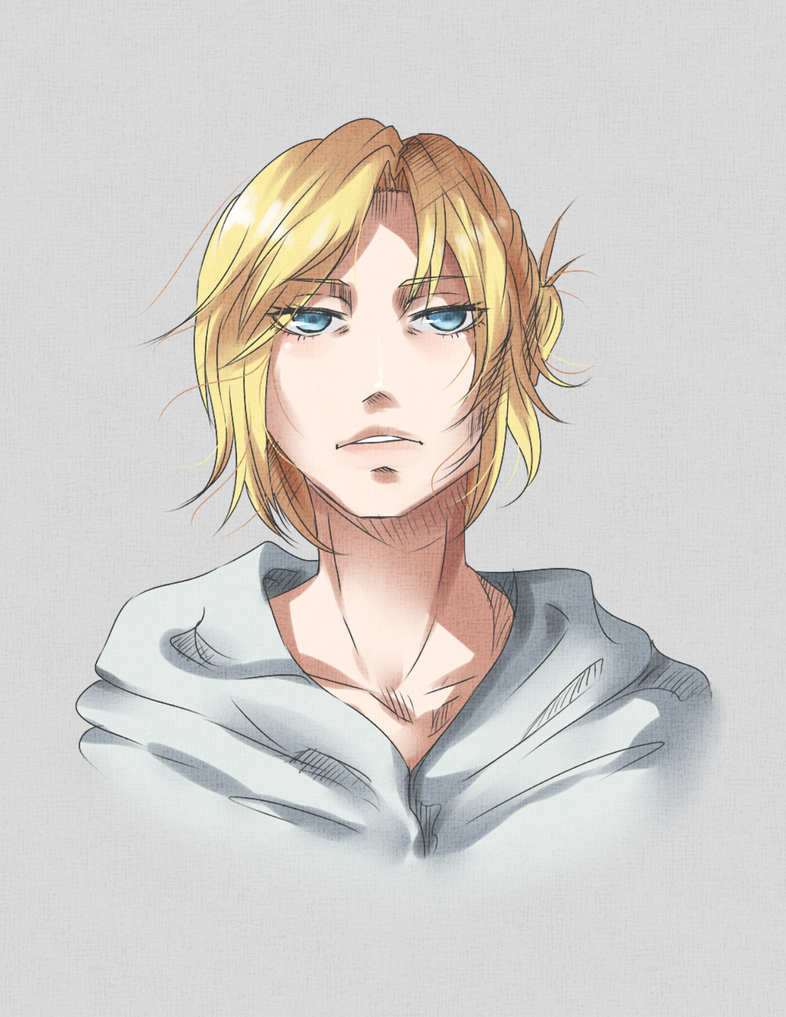 Annie Leonhardt / Sketch by Eternal--Melancholy