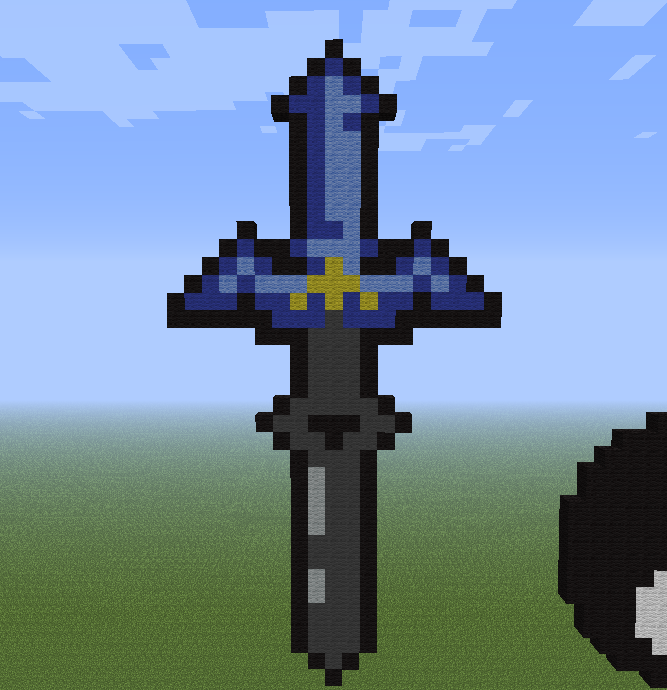 Master Sword Pixel Art By Ohmy2334 On DeviantArt