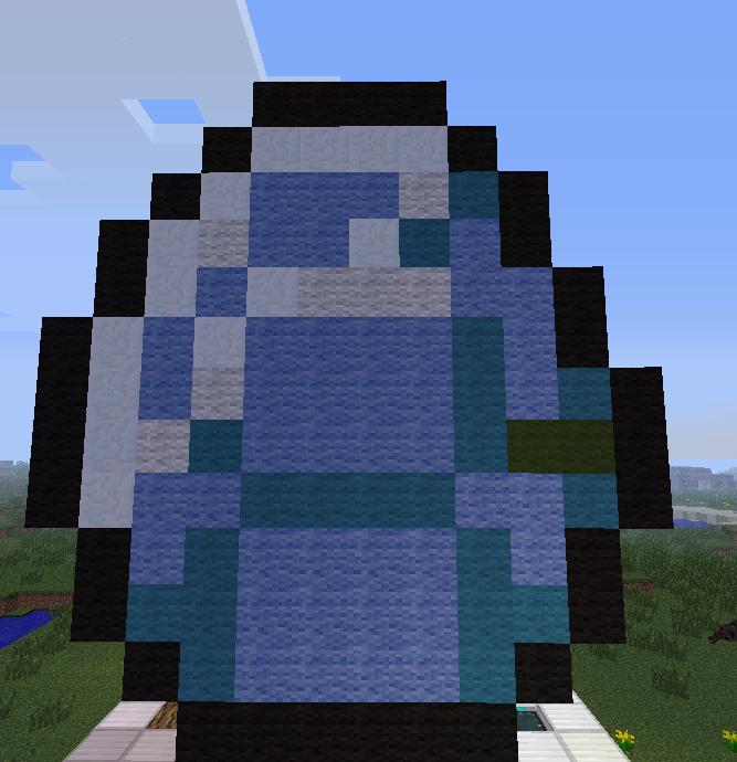 Minecraft pixel art diamond