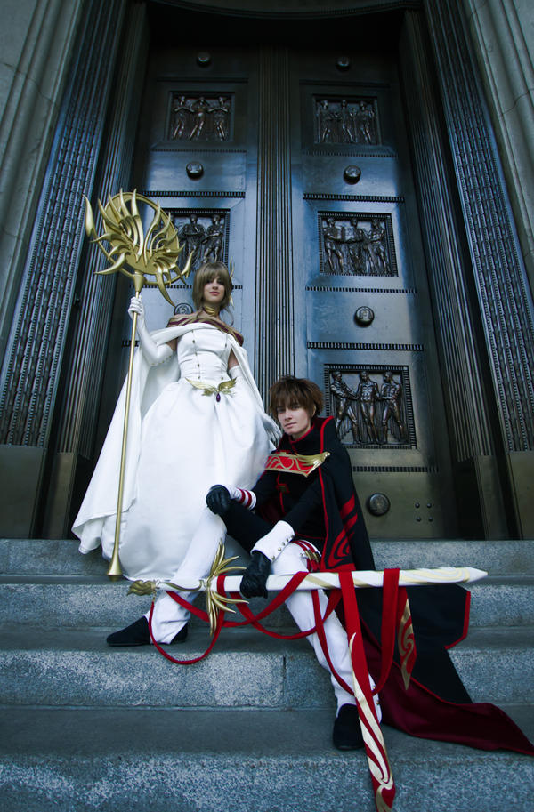 Princesse et Chevalier by Vilya0