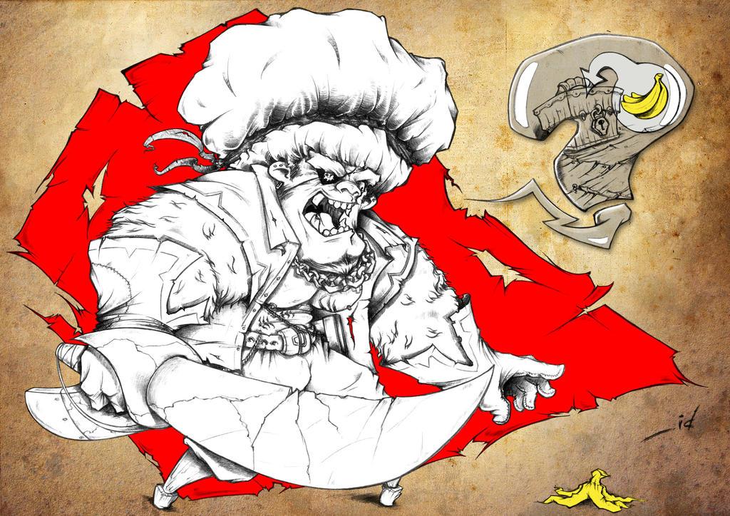 angry pirat männerfüße kitzeln