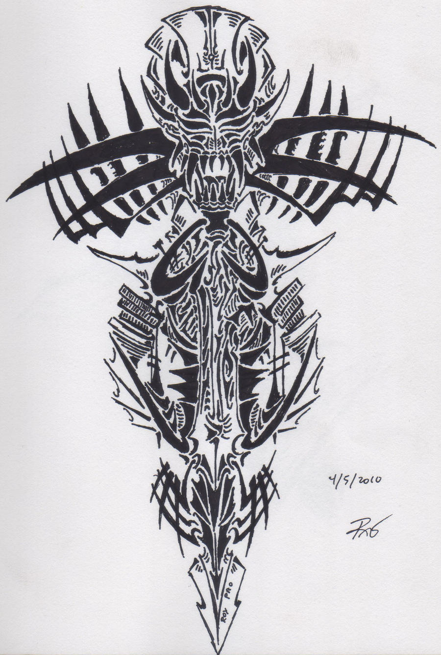 Tribal Tattoo Symbol: Tribal Devil Symbol By RoyCorleone On DeviantArt