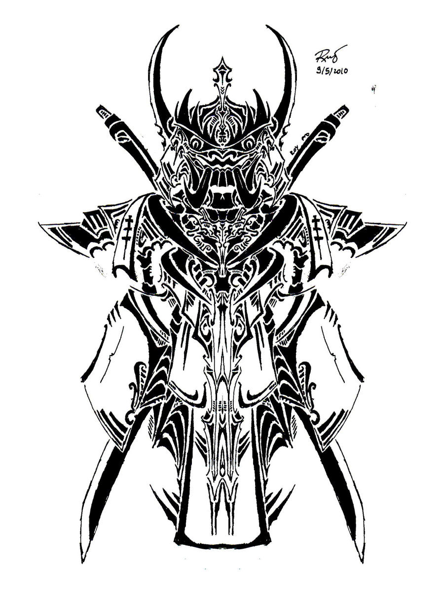 Tribal Hanya Samurai Symbol By RoyCorleone On DeviantArt