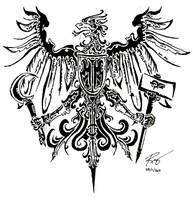 Tribal Eagle by RoyCorleone
