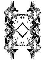 Tribal Anubis 3 by RoyCorleone