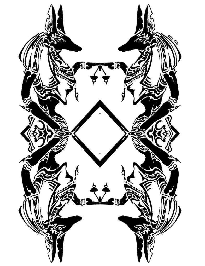 Tribal Anubis 3 By RoyCorleone On DeviantArt