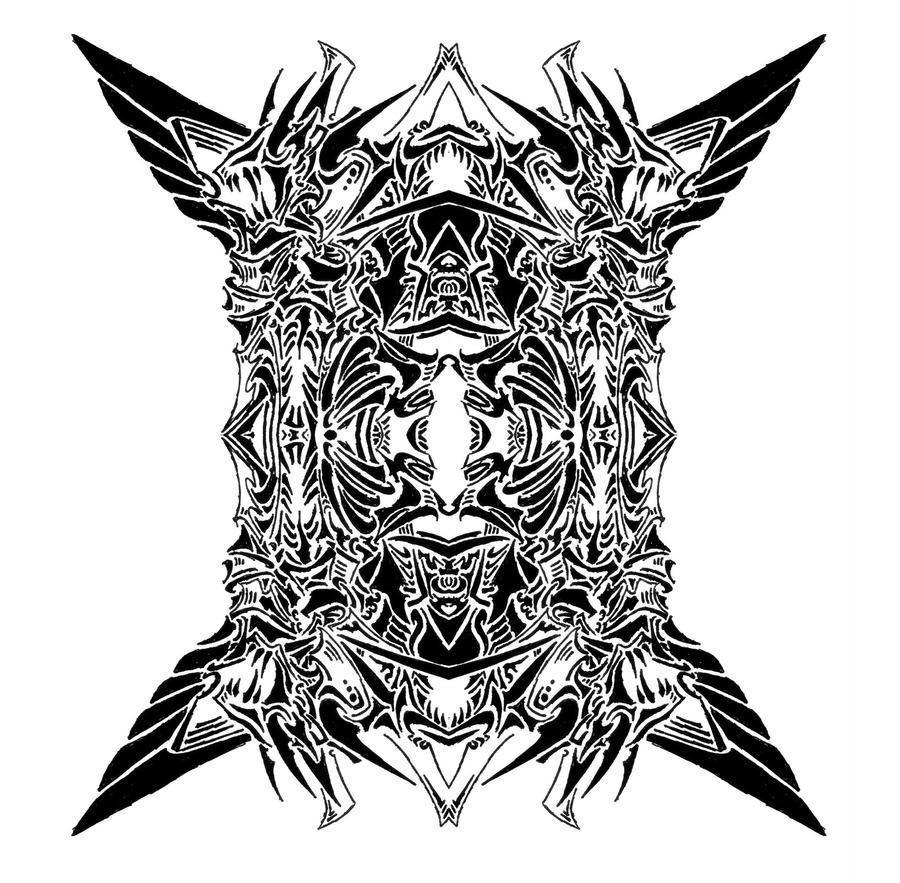 Tribal Devil Symbol 9 by RoyCorleone on DeviantArt