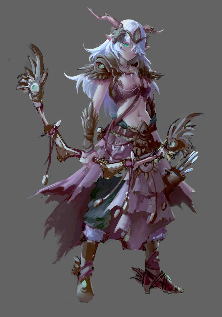 archer sketch by DodoZhong