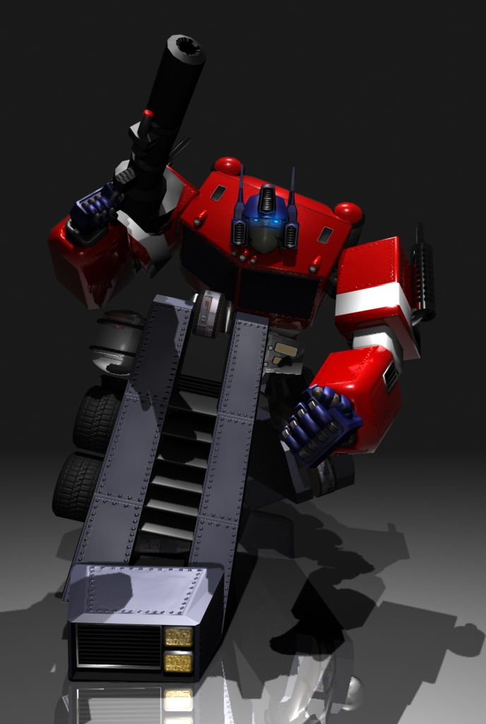 Optimus Prime frm Transformers by Alexandra720