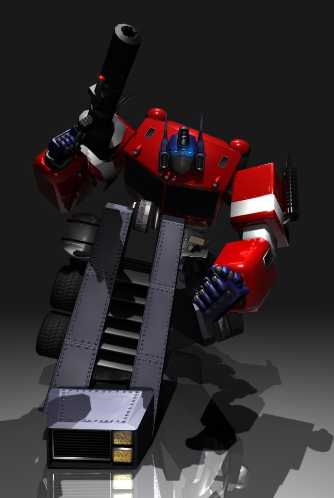 Optimus Prime frm Transformers by Alexandra720