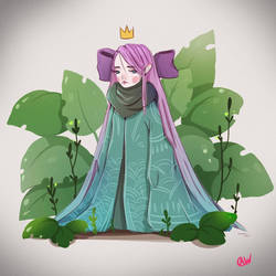 Little Frog Princess  by IwalTdohE