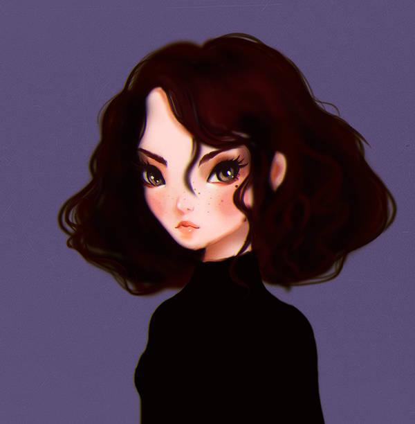 Portrait by IwalTdohE