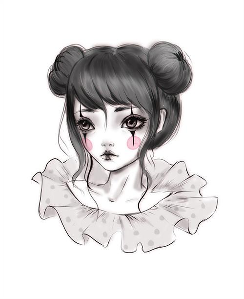 Clown girl