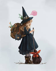 Witch by IwalTdohE
