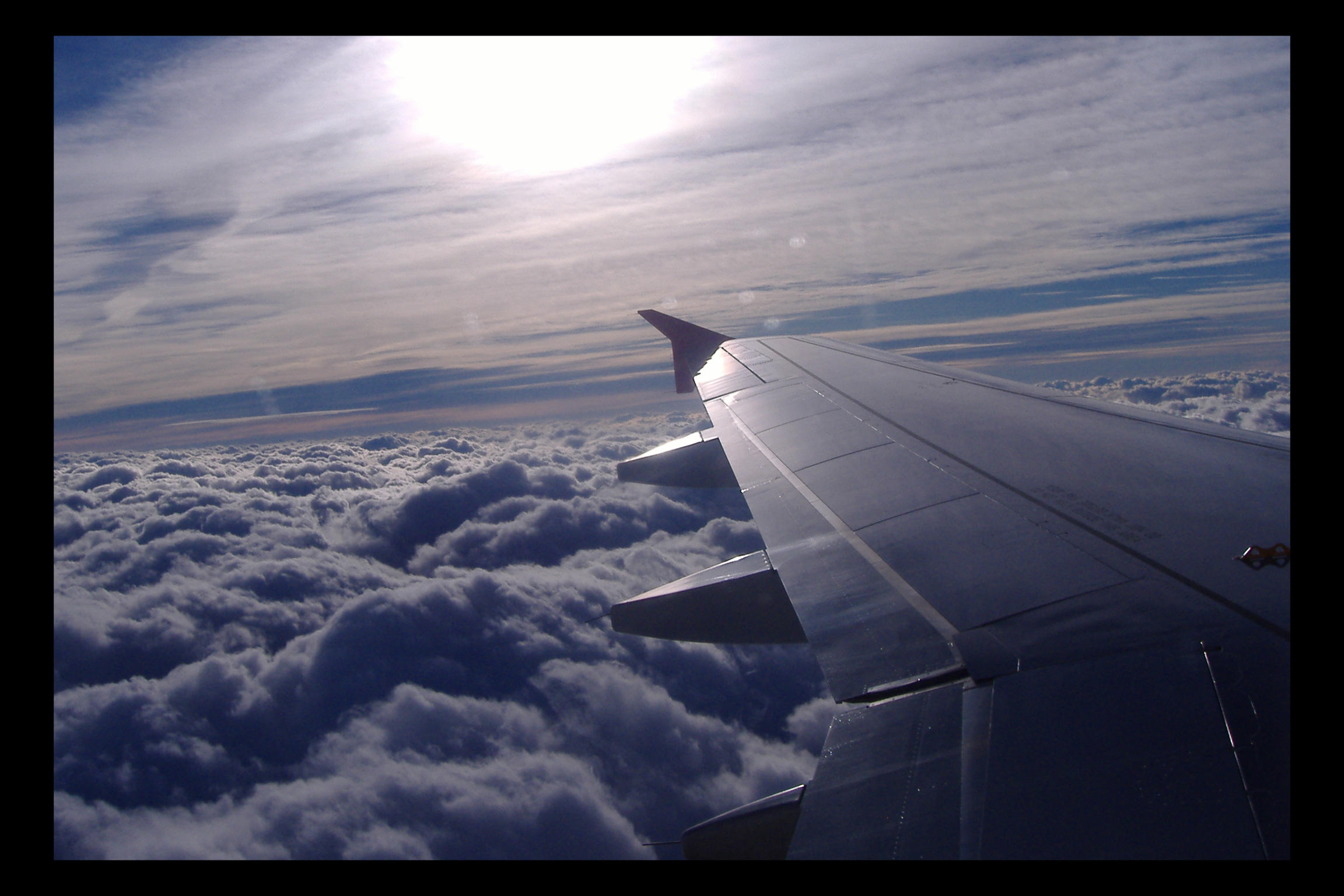 In the plane by Siwiel
