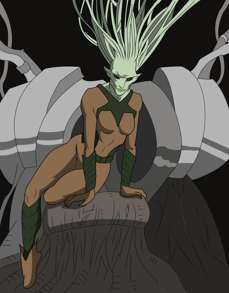 Queen of Legion Colored by JCServant