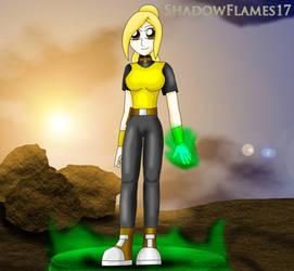 Ashley Wilcox/Terra by ShadowFlames17
