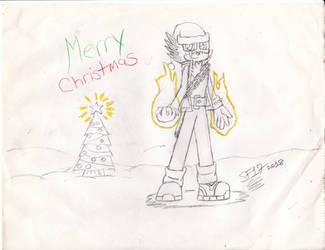 Cien's Christmas 2018 by ShadowFlames17