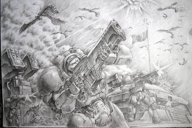 THE ZERG ARE COMING original by bookpoint